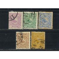 Иран Персия 1894-9 Герб Стандарт #80-3,114