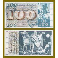 [КОПИЯ] Швейцария 100 франков 1973г.