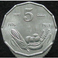 Сомали 5 сенти 1976 КМ#24 ФАО