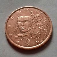 5 евроцентов, Франция 2002 г., AU