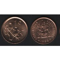Южная Африка (ЮАР) _km82 1 цент 1983 год последний год TS (b06)
