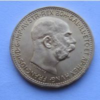 Австрия, 20 корон, 1915, золото