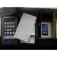 """Коробка, документы + наклейки к """"apple"""" iРhone 3G ."""