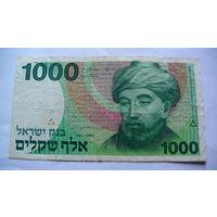 Израиль 1000 шекелей 1983г.  распродажа