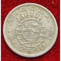 6664:  2,5 эскудо 1968 Ангола