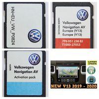 VW TOUAREG RNS 850 2020 V13 FULL EUROPE 3 SD в комплекте