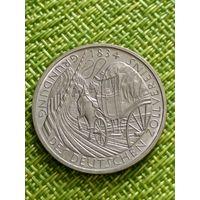 """5 марок 1984 Германия  ФРГ """"150 лет таможенному союзу"""""""