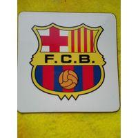 """Магнит с Логотипом Футбольного Клуба """"Барселона"""" Испания - Размер магнита 10/10 см."""