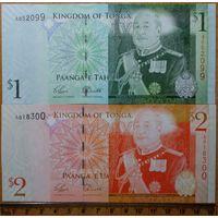 1+2 доллара Тонга