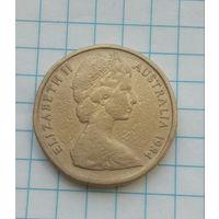 Австралия 1 доллар 1984г. Кенгуру.