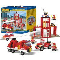 КОНСТРУКТОР BEST LOCK(США) Пожарная станция,390 ЭЛЕМЕНТОВ ,совместим с Lego