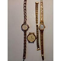 Женские часы одним лотом. Чайка AU (экспортный вариант) СССР - идут.