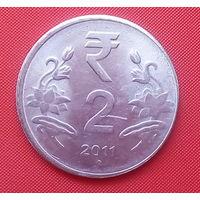 62-22 Индия, 2 рупии 2011 г.