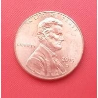 63-18 США, 1 цент 2015 г. (D)