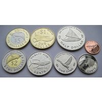 "Микронезия. набор 8 монет 2012 год   ""Фауна"" ""Рыбы"" ""Птицы"""