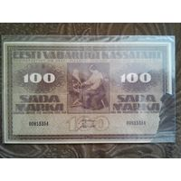 Эстония, 100 марок 1919г.