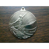 """Медаль спортивная наградная. Футбол. """"Золото"""" или 1 место. ТМ. D=50 мм. G=2,5 мм."""