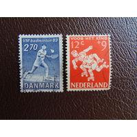 Дания  Спорт. 1983г.