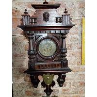 Часы настенные рабочие Kienzle 1889 год.