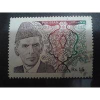 Пакистан 1994 Мухамед Али - лидер страны Mi-0,9 евро гаш.
