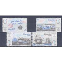 [121] Испания 1987. Парусники,корабли.