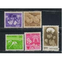 Индия 1979-80 Национальные мотивы Стандарт #793-4,817,819-20**