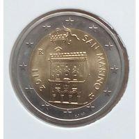Сан марино 2 евро 2011