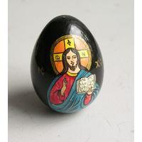 Яйцо Пасхальное деревянное расписное
