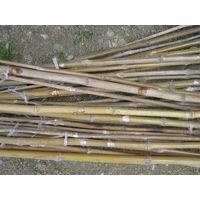 """Только вчера-см. этикетку,купленные в """"Охотнике  и рыболове"""" ОРИГИНАЛЬНЫЕ  бамбуковые  вьетнамские складные удочки!"""