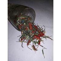 Резисторы:  млт- 0.25,  млт-0.5  в ассортименте