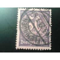 Германия 1922 служебная марка