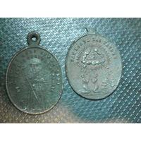 Медальоны католические 2 шт.