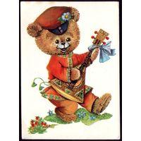 1984 год Л.Манилова Медвежонок чист