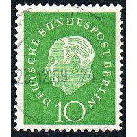107: Германия (Западный Берлин), почтовая марка, 1959 год