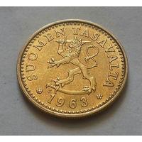 10 пенни, Финляндия 1963 г.