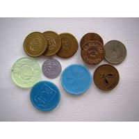 11 жетонов