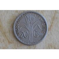 Французский Индокитай 20 центов 1941