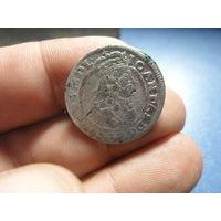 6 грошей 1666 г. Ян Казимир