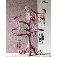 Подставка для украшений Розовое Дерево
