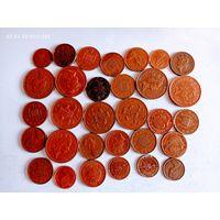Монеты Британии с рубля.