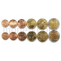Азербайджан 6 монет 2006 года