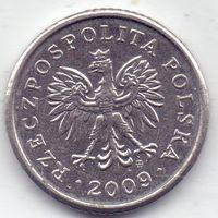 Польша, 10 грошей 2009 года.