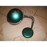 Настольная лампа СССР Металл, зелёный цвет