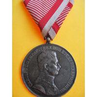 МЕДАЛЬ  ЗА ХРАБРОСТЬ 1 КЛАССА 1917-1918 гг.