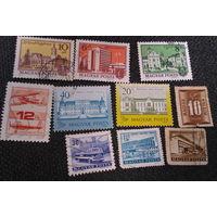 1974 и не только ( 10 марок Венгрии )