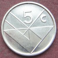 6517:  5 центов 1995 Аруба