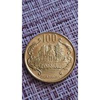 Парагвай 100 гуарани 2005 г