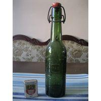 Старинная пивная бутылка. Германия, первая половина 20 столетия. (5).