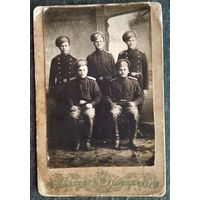 Фото военных из казаков. До 1917 г. 9х13.5 см