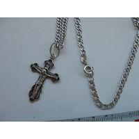 Крестик с цепочкой 3